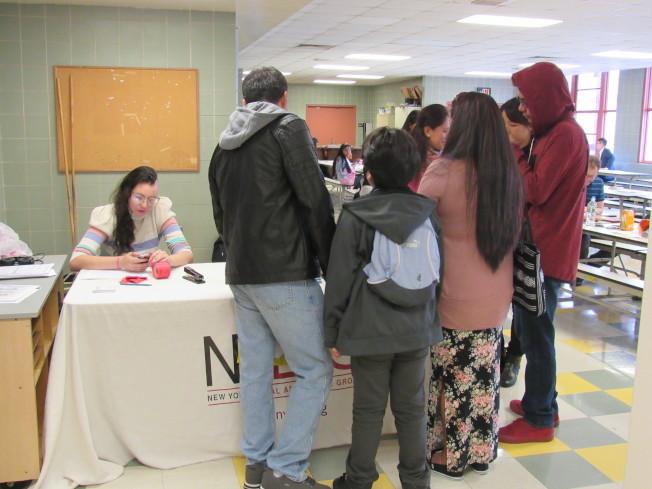 紐約市議會和多個機構合作,即日起在全市舉辦「移民法律諮詢及家庭資源日」系列活動。(記者顏嘉瑩/攝影)