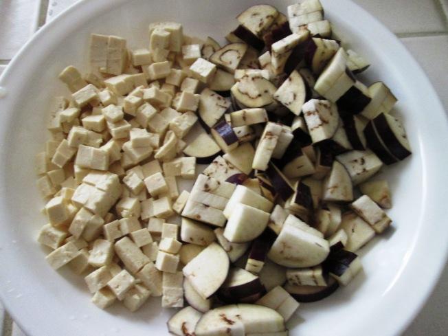 辣味茄子豆腐1
