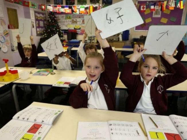 英媒報導,愈來愈多倫敦富裕家庭熱中於讓孩子從小就接觸中英雙語教育。圖/取自網路