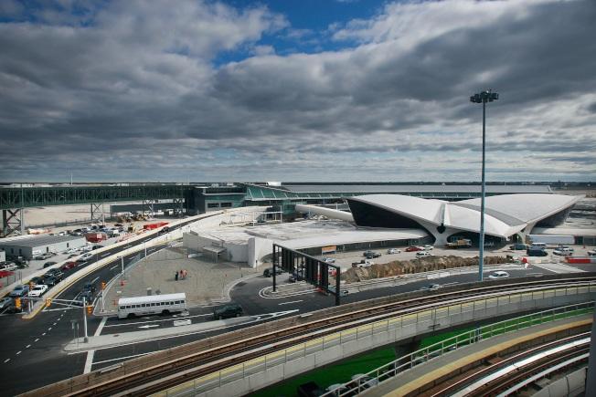 紐約甘迺迪國際機場。(Getty Images)