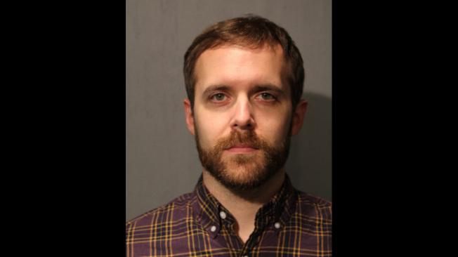 34歲的伊斯特普涉嫌在捷運站故意推人落軌。(芝加哥警察局)