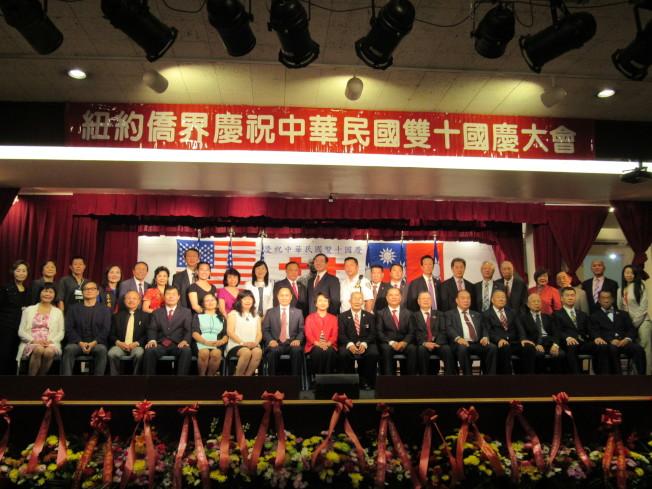 中華公所舉行一系列的國慶慶祝活動。(記者顏嘉瑩/攝影)