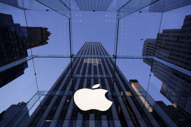 蘋果零售店。(美聯社)
