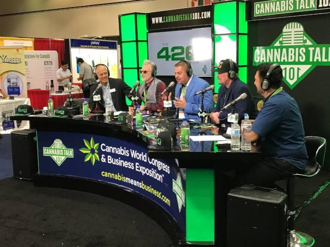 麻州大麻合法化後,該行業現被看作是潛在金礦。圖為大麻全球大會和企業博覽會活動現場。(取自大麻全球大會和企業博覽會臉書)