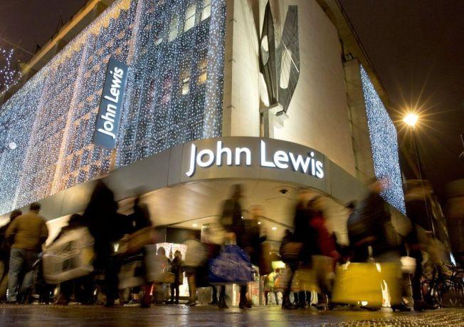 倫敦街頭的約翰路易斯百貨公司。(路透)