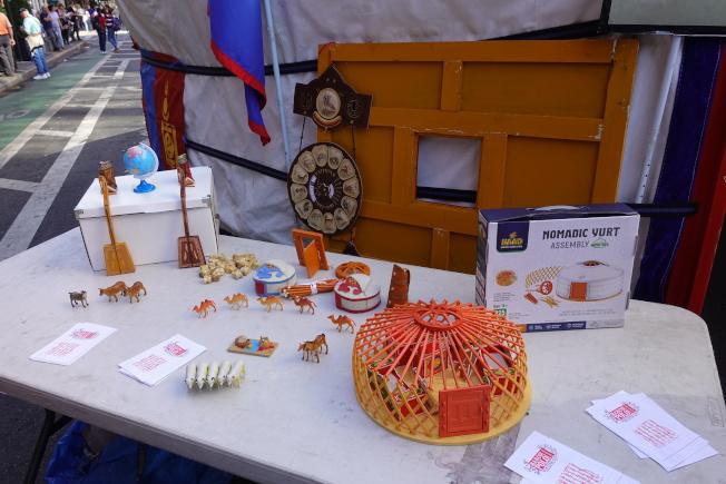 蒙古文化多姿多彩。(記者金春香/攝影)