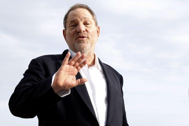 好萊塢製片溫斯坦被指控強暴女星。(Getty Images)