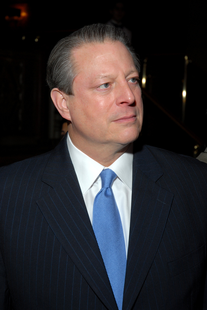 前副總統高爾(Al Gore)。(WikiCommons)
