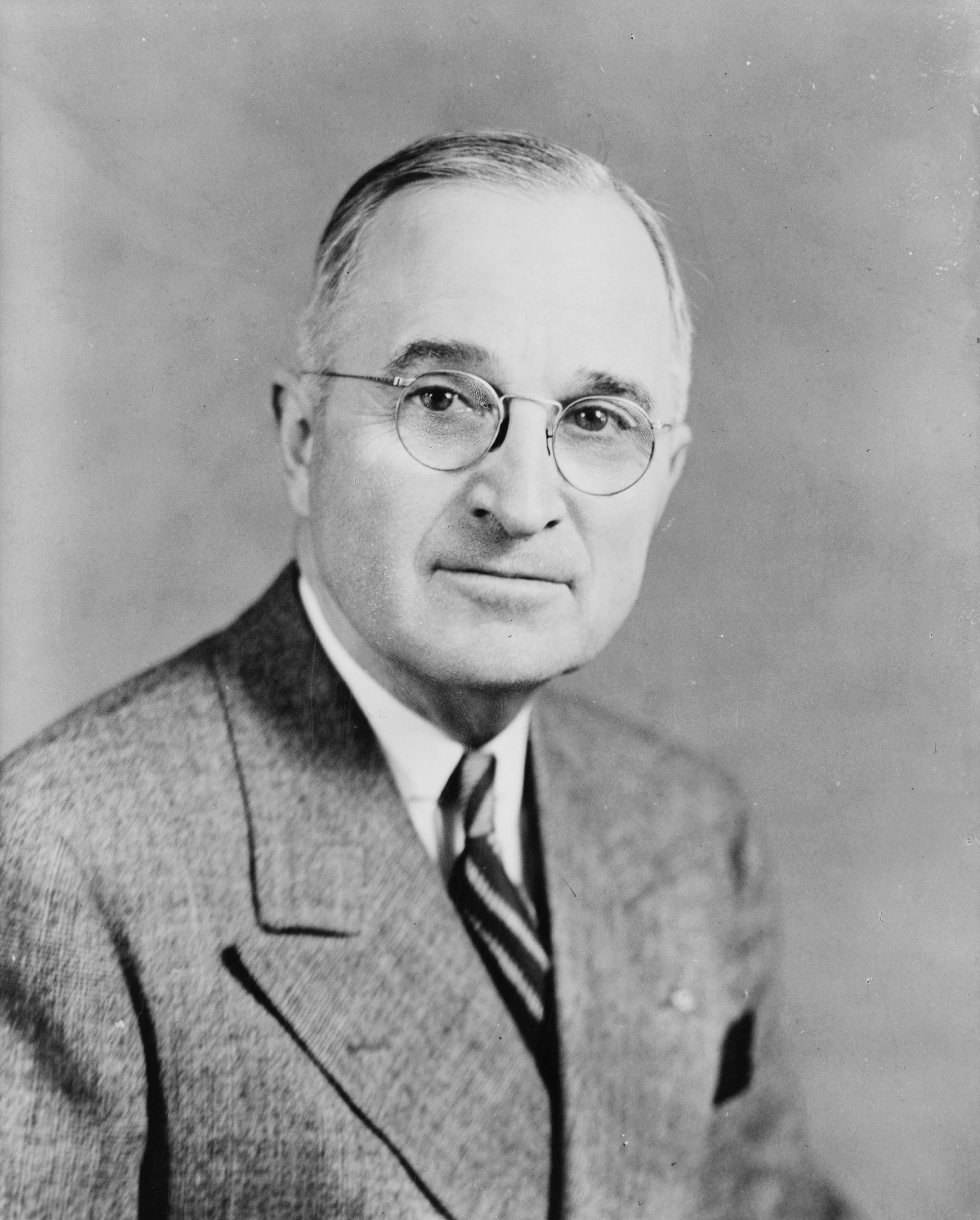 美國時任總統杜魯門(Harry Truman)。(WikiCommons)