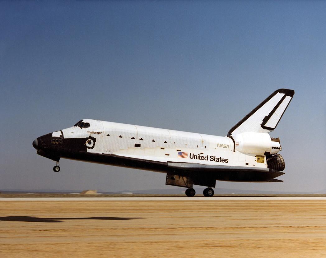 太空梭挑戰者號。取自/維基百科