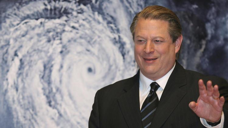 2007年1月15日,前副總統高爾於日本東京宣傳紀錄片「不願面對的真相 (An Inconvenient Truth)」。(美聯社)
