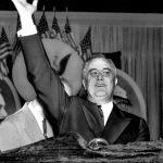 1944年11月7日連任最多次的美國總統