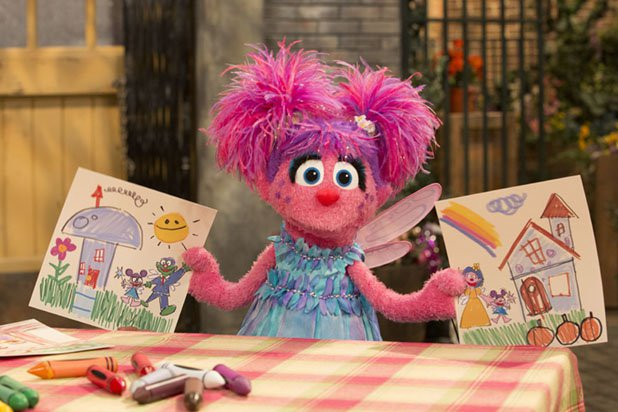 Abby。(Sesame Workshop)