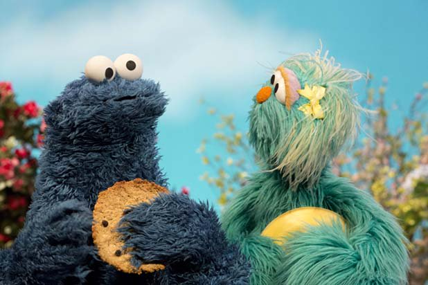 Cookie Monster。(Sesame Workshop)