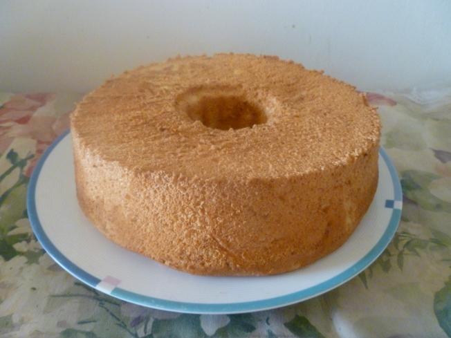 南瓜戚風蛋糕
