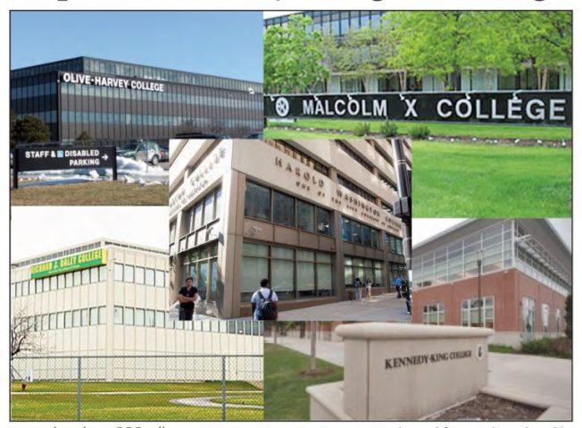 芝加哥市的社區學院,校園都很現代化。(芝加哥社區學院)