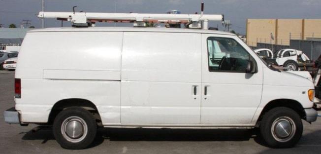 被盜率高的福特大型廂型車。(本報檔案照)