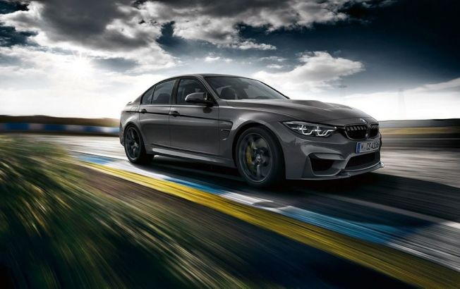 BMW汽車所打造的全新M3 CS輕量化四門轎跑車已正式現身,全球限量1200台。(BMW提供)
