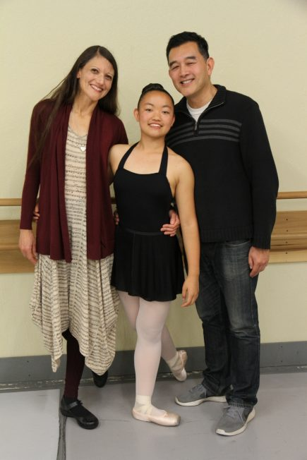 Twilight由台裔父親與白人母親組成的幸福家庭領養。(記者李榮/攝影)