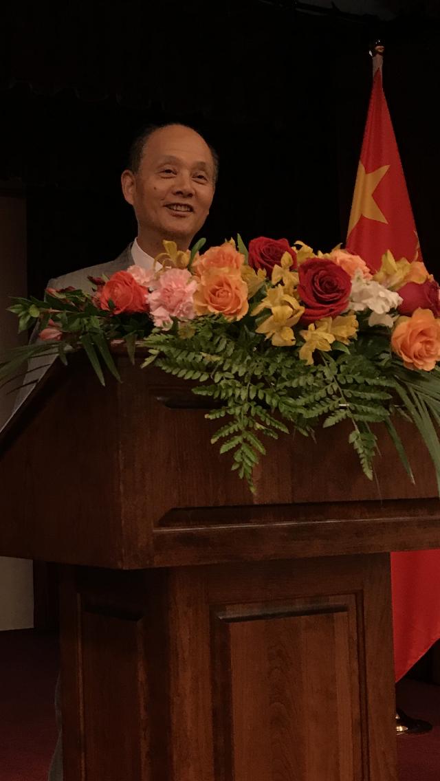 中國駐舊金山總領事羅林泉期待中國和阿州建立更緊密的經貿關係。(資料照片,記者黃少華/攝影)