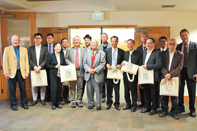 史丹福香港回歸20周年論壇,齊聚香港政壇的各方意見領袖。(記者張毓思/攝影)