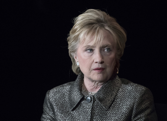 喜萊莉‧柯林頓。美聯社