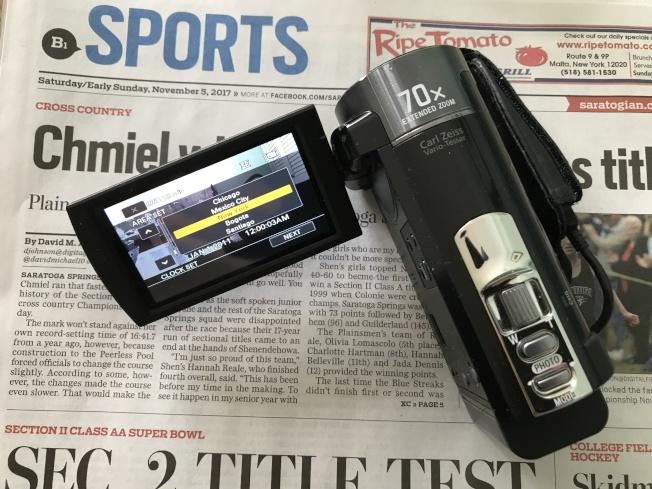 麥基夫調查使用的錄像機。(麥基夫/提供)