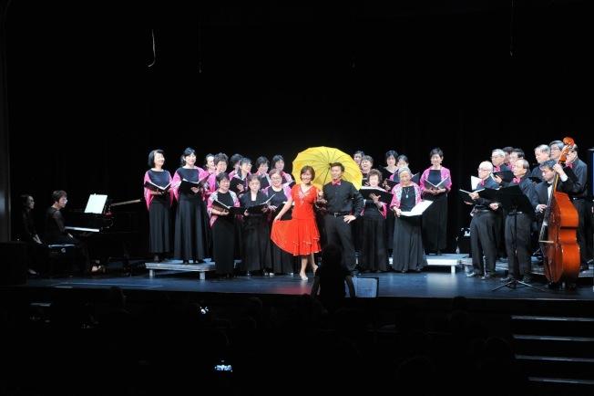 大華府台大校友合唱團在孜孜耕耘八年後,日前成功舉辦第三次專場演唱會,全場座無虛席。(NTUACDC提供)