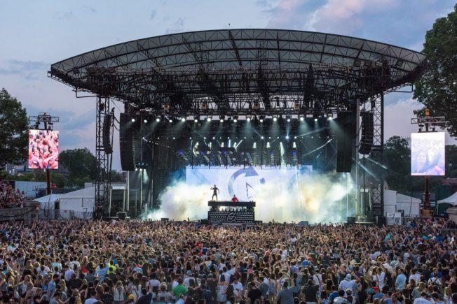 森林小丘體育場現在是一系列演唱會的舉辦地。(取自森林小丘官網)