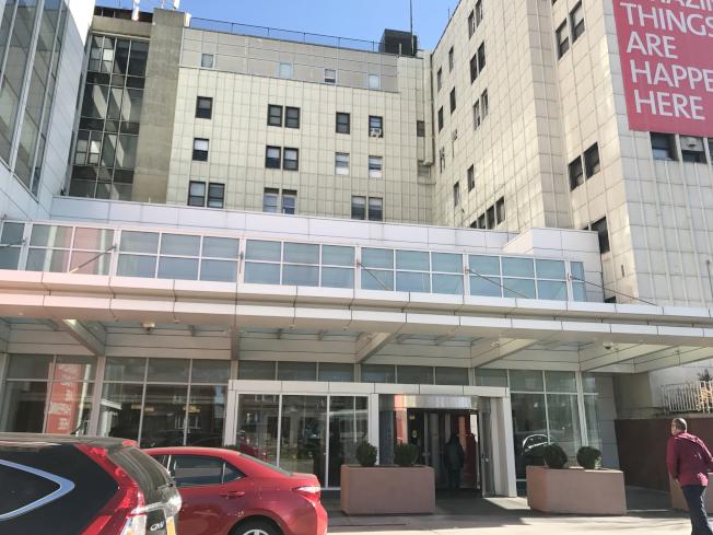 宋楊於26日在紐約長老會皇后醫院不治身亡。(記者俞姝含/攝影)