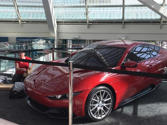 洛杉磯汽車展(LA Auto Show)暨交通行業展覽會(AutoMobility LA)已開放給媒體及汽車商家參觀。(記者謝雨珊/攝影)
