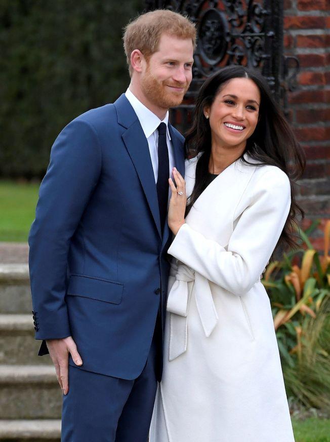 英國哈利王子與美國女星梅根馬克爾訂明年5月舉行婚禮,零售業者樂觀以待。(圖/路透)
