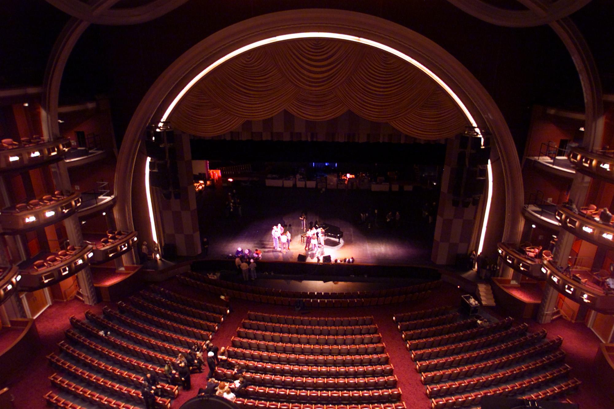 2001年10月30日的柯達劇院(Kodak Theatre)。(美聯社)