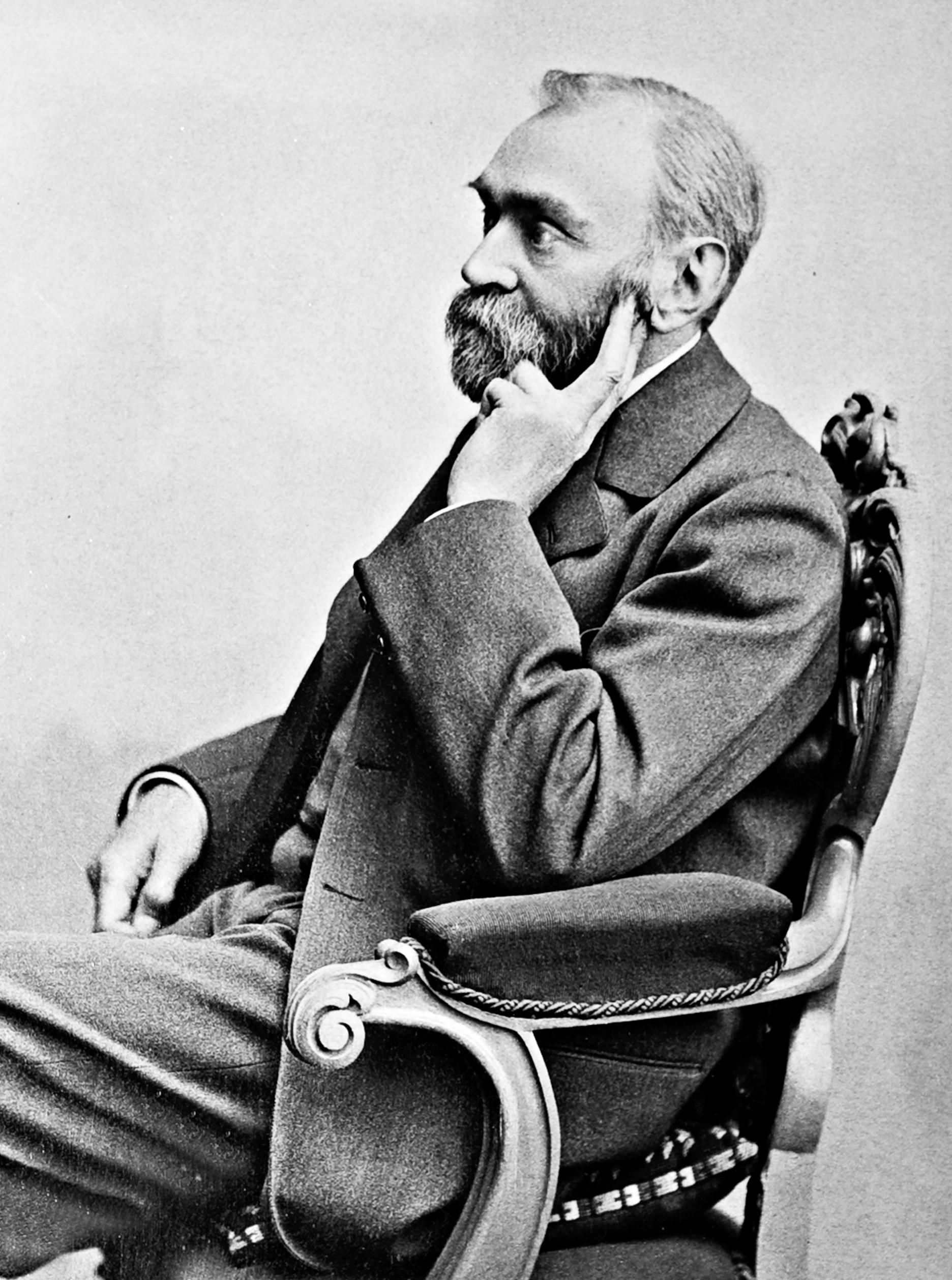 瑞典化學家阿佛烈·諾貝爾(Alfred Nobel)。(WikiCommons)