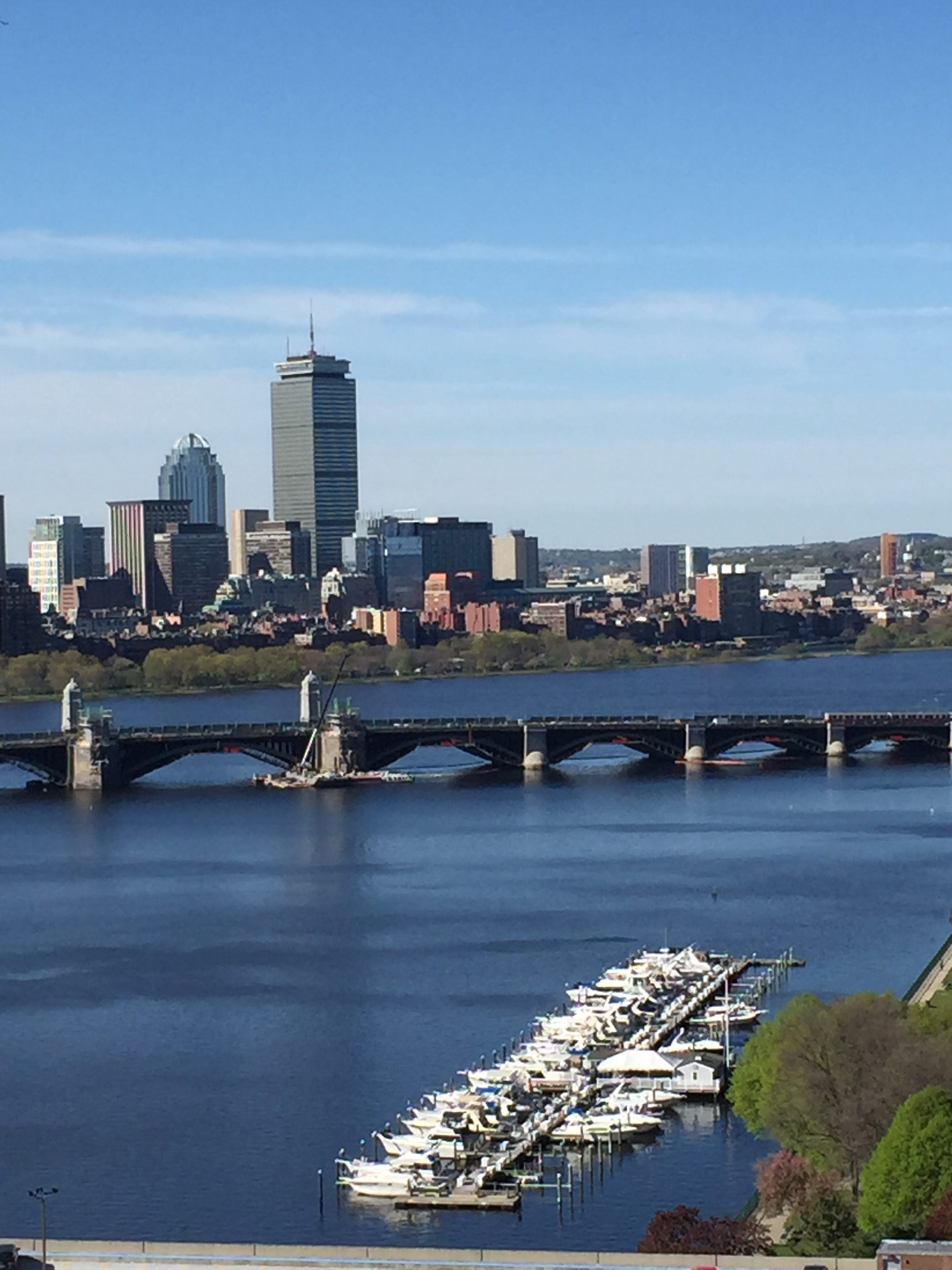 波士頓市中心。(水仙提供)