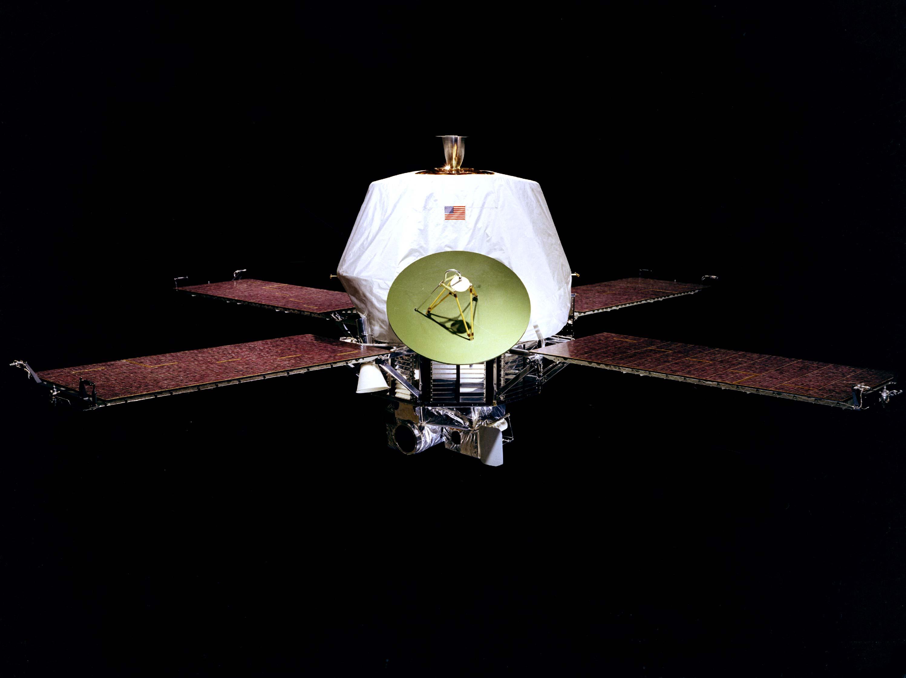 水手9號太空船。圖/取自維基百科
