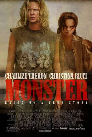 以愛琳‧沃諾絲(Aileen Wuornos)的故事改編的電影「女魔頭(Monster)」。(WikiCommons)