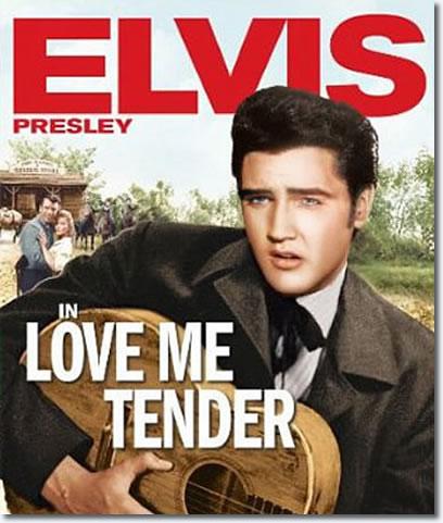 電影《鐵血柔情》(Love Me Tender)海報。圖/取自網路