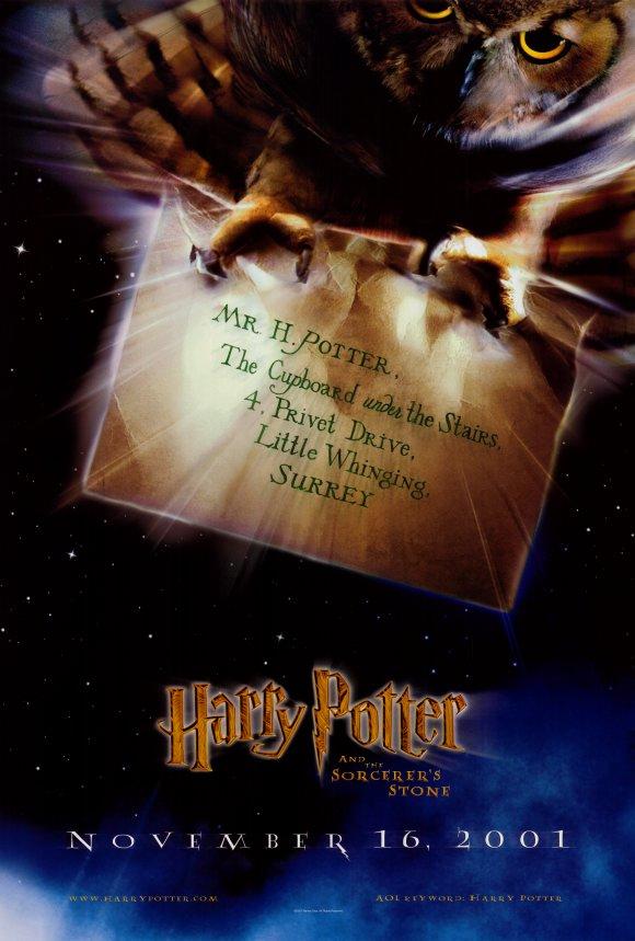 2001年11月16日,由全球暢銷小說《哈利波特》改編的同名電影正式在全美上映。(網路圖片)