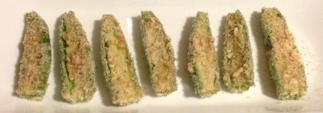 味噌烤秋葵