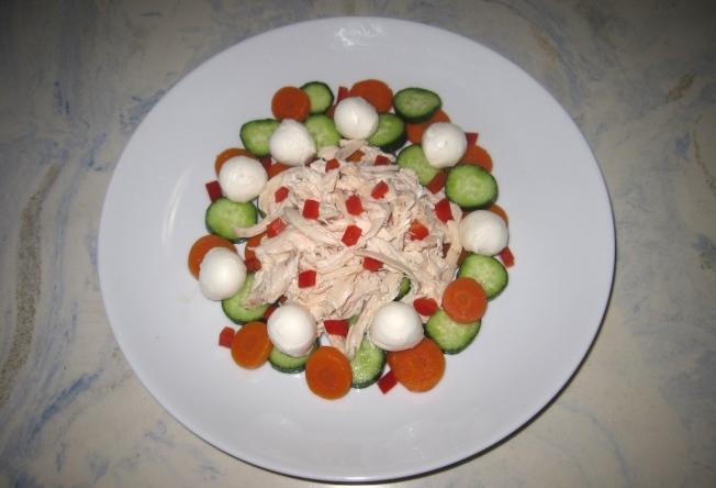 雞肉莫札瑞拉沙拉