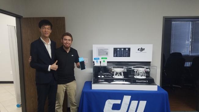 DJI(大疆無人機)的產品信譽卓著,近年來有很多中國遊客專程前來採購。