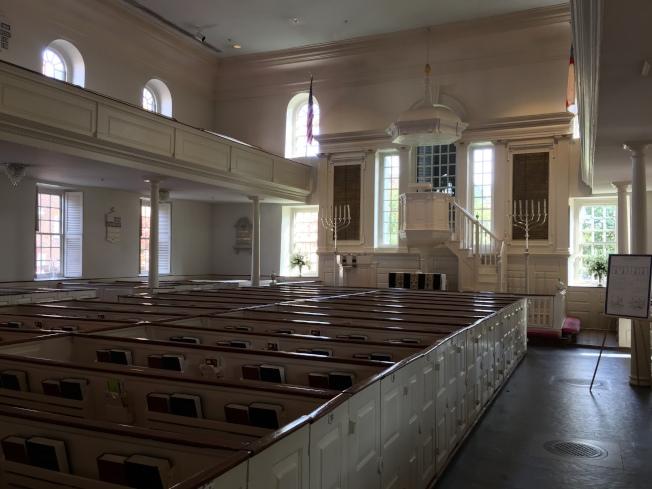 亞歷山卓基督教堂內部。