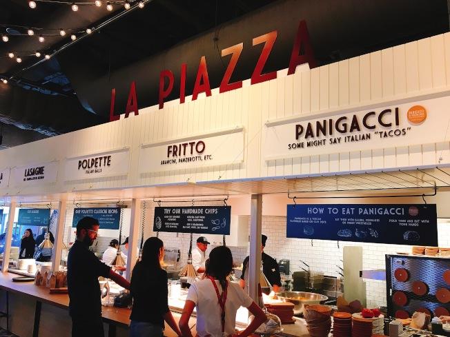 餐廳還提供饕客自行選料,製作出獨一無二口味的DIY披薩。(記者莊婷/攝影)
