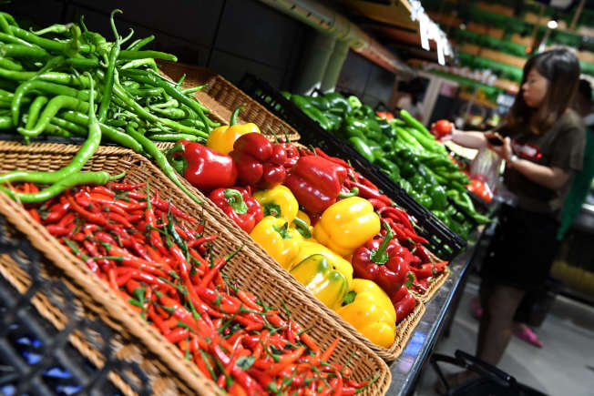 蔬菜。(中新社)