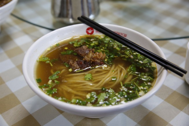 拉麵譯為「Lamian Noodles」,圖為蘭州牛肉拉麵。(新華社資料照片)