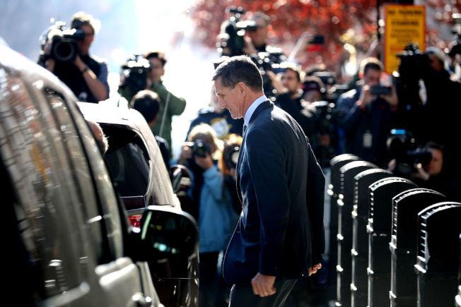 前任國家安全顧問佛林(Michael Flynn)。(Getty Images)