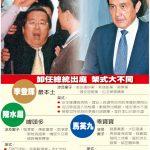 一張圖台灣卸任總統出庭 架式大不同