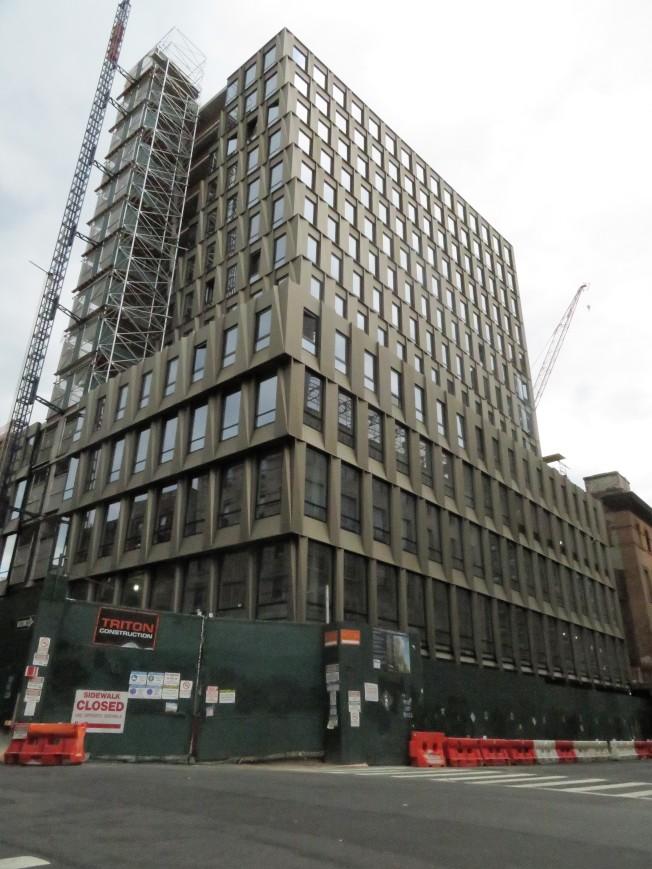 「飛越艾塞克斯」第一區位於布隆街242號,將開放11戶可負擔住房,即起開始報名。(本報檔案照)