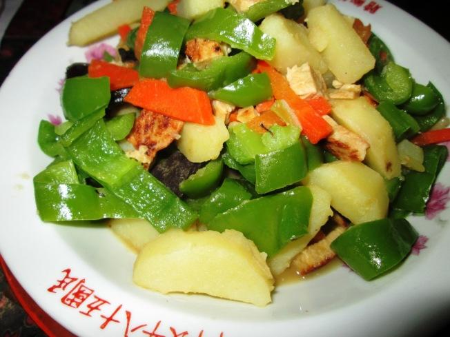 馬鈴薯炒青椒